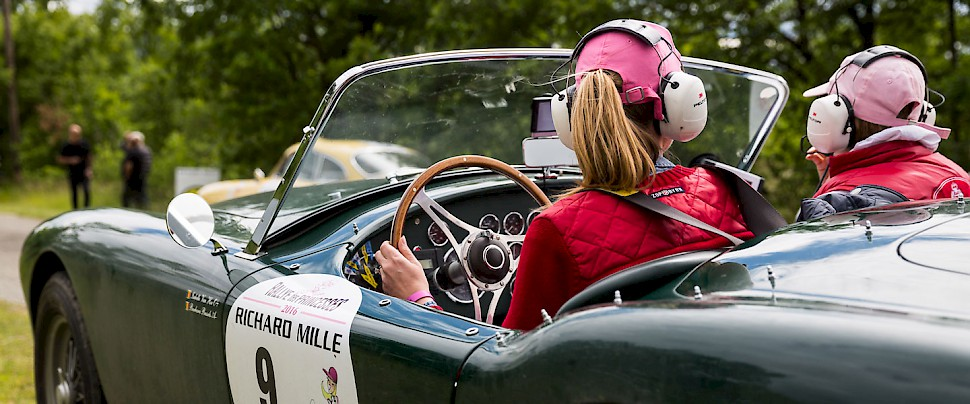 The ultimate women's motor sport get-away... Photo courtesy of Zaniroli.com
